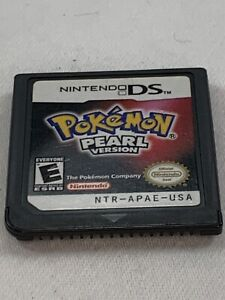 Pokemon Pearl Version (Nintendo DS, 2007) 100% Authentic CARTRIDGE ONLY Tested