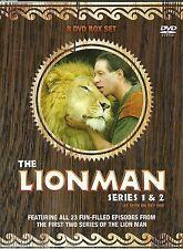 THE LION MAN SERIES 1 & 2 - FEATURING ALL 23 EPISODES LIONMAN -  8 DVD BOX SET