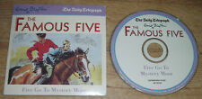 Enid Blyton (Famous) FIVE GO TO MYSTERY MOOR Audio Book CD Daily Telegraph