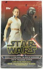 journey to Star Wars the rise of skwalker trading cards  factory sealed box