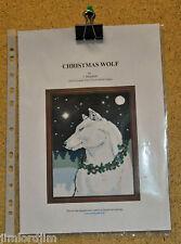CHRISTMAS WOLF - cross stitch chart