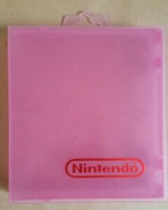 Pink NES Game Case
