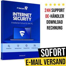 F-Secure Internet Security 2021 - 1PC, 3PC, 5PC   1 Jahr, 2 Jahre, 3 Jahre