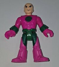 Imaginext BATMAN DC Super Friends-LEX LUTHOR (Rosa) - Ufficiale Nuovo
