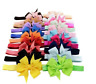 Colors 20Pcs Newborn Baby Girl Headband Infant Toddler Bow Hair Band Accessories