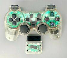 PS2 Controller PlayStation 2 DualShock Wireless Controller - Transparent Clear