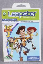 LeapFrog Leapster Toy Story 3 Learning Game Cartridge Pre-K-1st Grade #36018