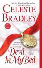 Devil In My Bed: The Runaway Brides Bradley, Celeste Mass Market Paperback