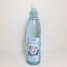 New Bath & Body Works Pleasures Cotton Blossom Body Splash Aloe Vera 8 oz No Lid
