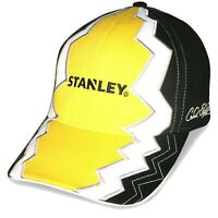 Carl Edwards #19 NASCAR Racing Stanley Tools Checkered Flag Electric Cap Hat
