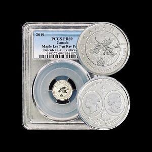 CANADA. 2019, 1 Dollar, Silver - PCGS PR69 - Queen Victoria Bicentennial, RARE