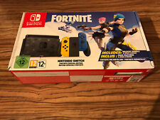 Nintendo Switch Fortnite Edition Console Box Only With Inserts Baggies Paperwork