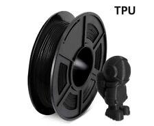 Sunlu PLA Filament TPU noir (élastique, flexible) 1.75mm (0,5Kg) imprimante