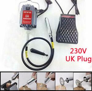 4mm S-R Hanging Flexshaft Mill Jewelry Design Repair Kits +Foot Pedal 220V UK