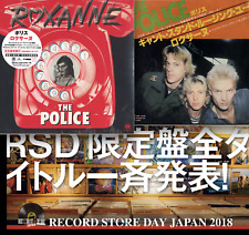 """JAPAN RSD 2018 THE POLICE ROXANNE 2 COVER 7"""" RED VINYL SENT23.4fromBERLIN"""