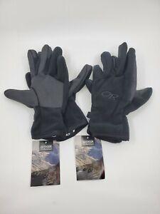 Lot 2 Pair Outdoor Research US Gripper Gloves Size Medium Black