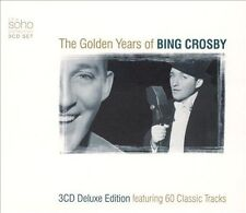 BING CROSBY--The Golden Years Of-3 CD Set--Soho Label--60 Tracks