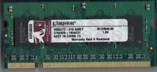Kingston 1 GB SO-DIMM DDR2 Memory (M12864E40) Laptop RAM