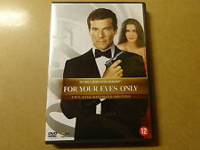 2-DISC ULTIMATE EDITION DVD / JAMES BOND 007 - FOR YOUR EYES ONLY