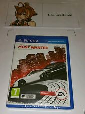 Need for Speed Most Wanted PSV New Sealed UK PAL PlayStation Vita PS Vita