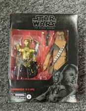 """New Star Wars BLACK SERIES 6"""" CHEWBACCA & C3PO Exclusive 2-PACK Nonmint Box"""