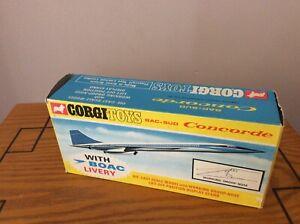 Corgi  No 650 Concorde BOAC.🛩