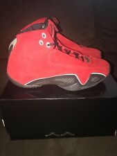 7f59585869d Air Jordan XXI (21) OG Red Suede 2006 313495602 Size 9 DS Brand New