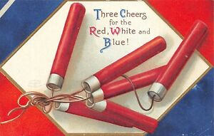 # A4230   FOURTH OF JULY    POSTCARD,  4th OF JULY