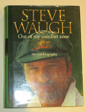"Steve Waugh signed Book - ""Out of My Comfort Zone"" + Photo Proof & COA"