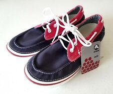 New with Tags Crocs Mens Hover Boat Navy Blue White Red Size US Size 12