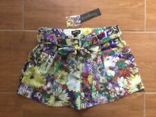 Dress Shorts Hand-wash Only Floral Shorts for Women