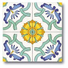 Piastrelle 20x20 Decorate A Mano ceramica Vietri. Consegna In 7 Gg Lavorativi