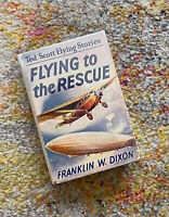 Flying to the Rescue Ted Scott Stories Franklin W. Dixon HC Book in DJ 1930