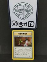 POKÉMON GYM HEROES UNLIMITED GOOD MANNERS UNCOMMON 111/132 NM