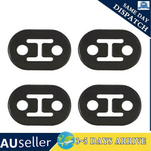 4X Exhaust Mount Repair Hanger Bracket Heavy Duty Rubber Replacement Universal
