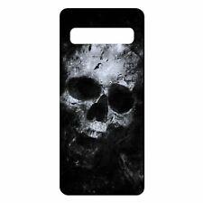For Samsung Galaxy S10 Silicone Case Skull Art - S2768