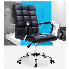 15 Grid Large PU Leather Comfort & Ergonomic Swivel Office Chair