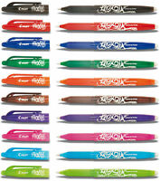 Pilot Frixion Rollerball Pen - Erasable 0.7mm Tip BL-FR7 - By Colour
