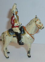Vintage lead Mounted life gaurd britains j hill crescent etc