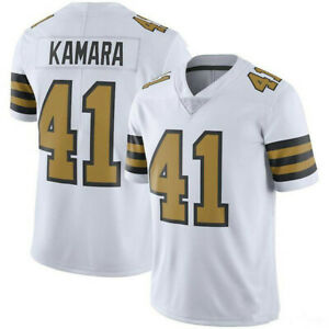 41 Alvin Kamara New Orleans Football Jerseys Stitched