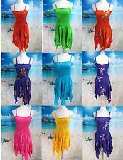 20pcs wholesale dresses Sexy women hippie sundress  Bali rayon beach dresses