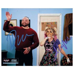 Bray Wyatt and Alexa Bliss SIGNED WWE WrestleMania 37 Exclusive 8x10 Photo