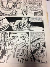 11x17 Secrets Of Haunted House #48 p.2 Original Art Artist Unknown Not Published Comic Art