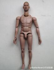 "1/6 scale custom Head Sculpt Vin Diesel Fast & Furious 12"" body figure#US"