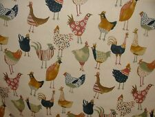 4 Metres Prestigious Textiles Harriet Hens Vintage Curtain Upholstery Fabric