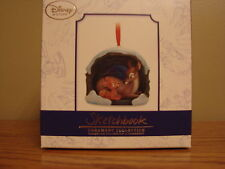 DISNEY Sketchbook BAMBI & His Mother Christmas Holiday Ornament LE 1000 *NEW*