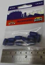 Bachmann 00 Scenecraft 44-526 - Industrial Chemical Drums x 10 - New (00)