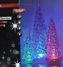 NEW PRESTIGE CHRISTMAS LED COLOUR CHANGING 3 CHRISTOW TREES LIGHTS