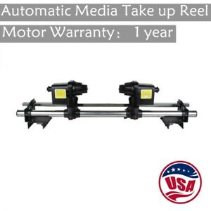 "US 54"" 64"" Auto Take up Reel System Paper Receiver Mutoh/ Mimaki/ Roland/ Epson"