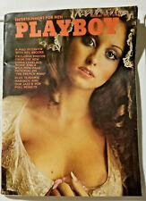 Playboy Magazine February 1975 - Mel Brooks Intrvw, Linda Lovelace, French Maid